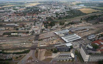 Am Hauptbahnhof in Halle werden am kommenden Wochenende neu gebaute Anlagen in Betrieb genommen. Deshalb müssen Reisende mit Einschränkungen und Zugausfällen rechnen. (Foto: privat)